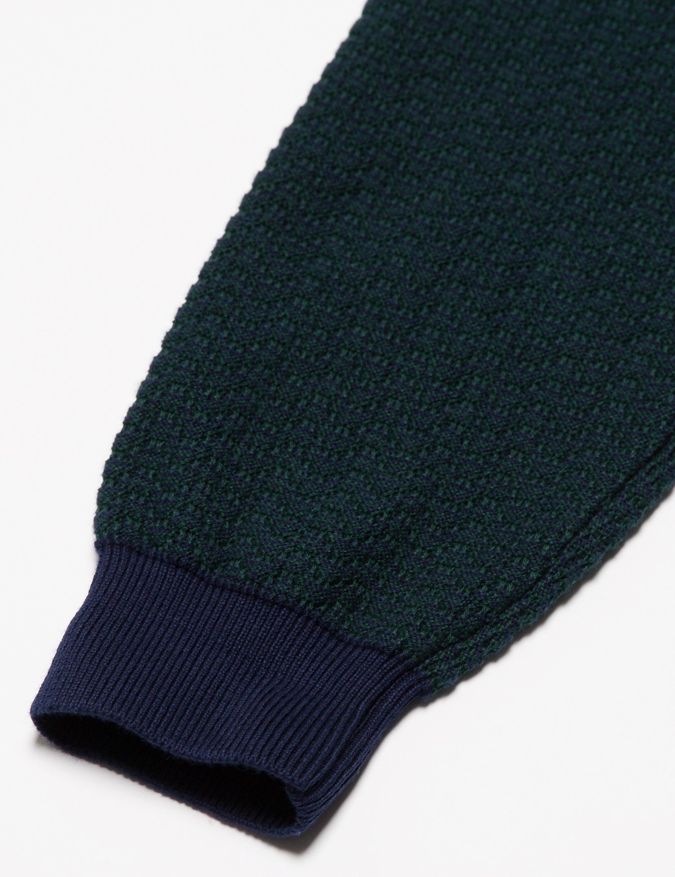 Yeşil Slim Fit Triko Kazak